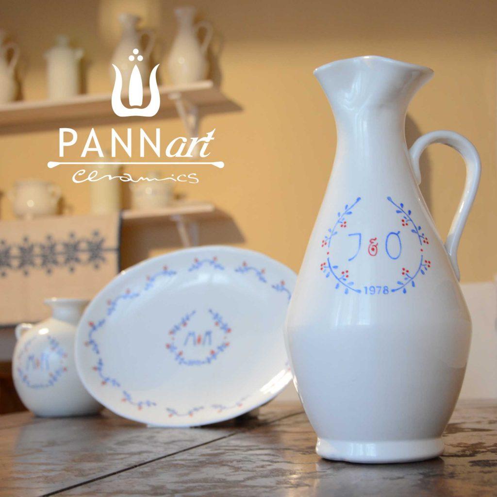 Keramične vaze inovativno poročno darilo za mladoporočenca